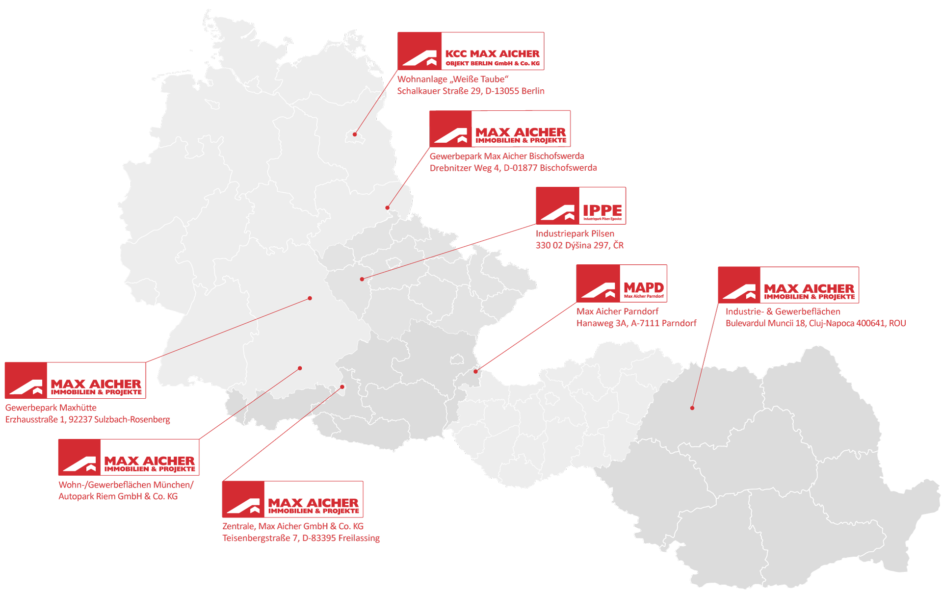Standort_Kontaktstellen_Max-Aicher-Immobilien_Europaweit